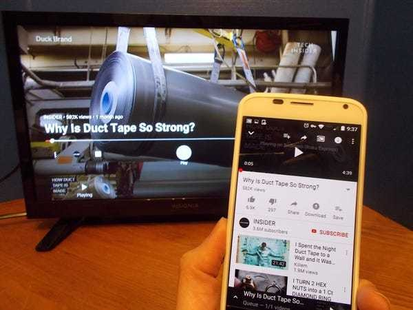 How to cast videos to Roku from your phone onto your TV - Business Insider