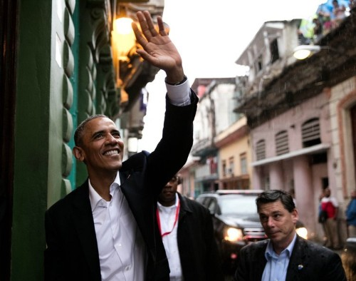 Striking photos of Obama's trip to the revolutionary heart of Cuba