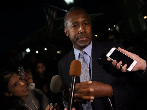 Ben Carson: Egyptians used the pyramids to store grain, not bury the pharaohs