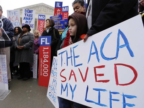 Justice Kagan brilliantly exposed a flaw in the huge challenge to Obamacare