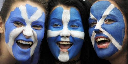 The Scottish people are on the brink of backing independence from the UK
