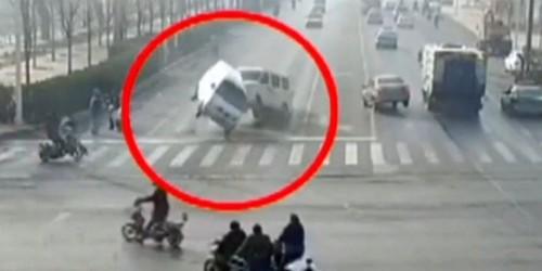 Here's why those three cars in China suddenly started levitating