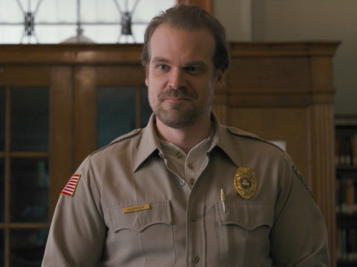 'Stranger Things' star David Harbour was just nominated for his first Golden Globe and fans are beside themselves