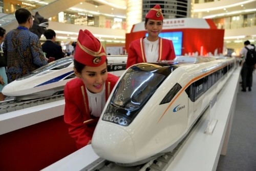 China, Japan battle to build Indonesia's first bullet train