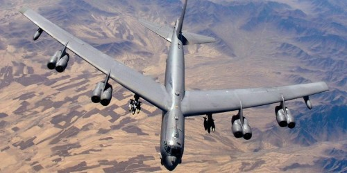 11 photos of the legendary B-52 Stratofortress bomber, which just returned home from Iraq and Afghanistan
