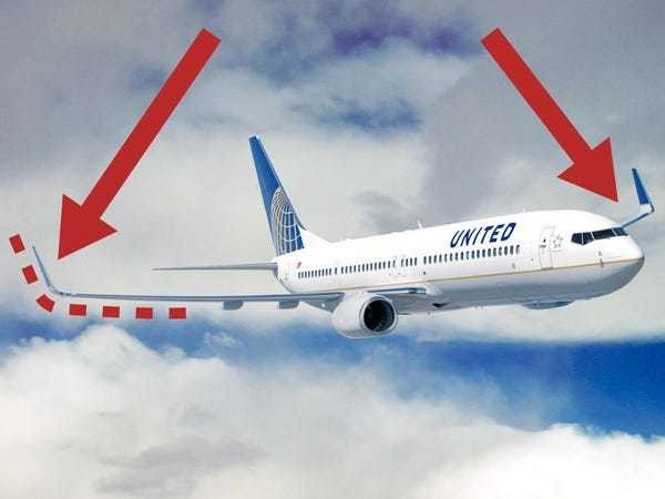 Here's the simple reason why planes have winglets - Business Insider