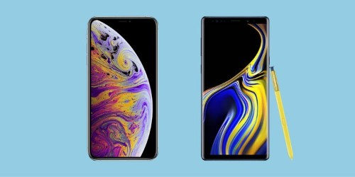 The new iPhone XS Max and Galaxy Note 9 are among the biggest, best, and most expensive phones you can buy — here's how they compare
