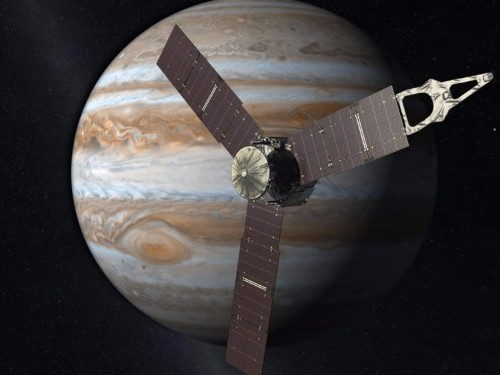 NASA will soon take the closest-ever photos of Jupiter's Great Red Spot — a storm the size of 2 Earths