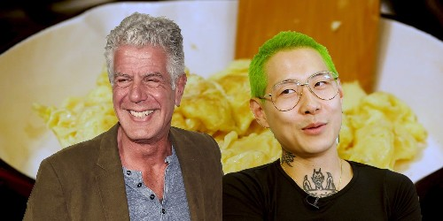 The best way to make scrambled eggs — according to Anthony Bourdain and Danny Bowien