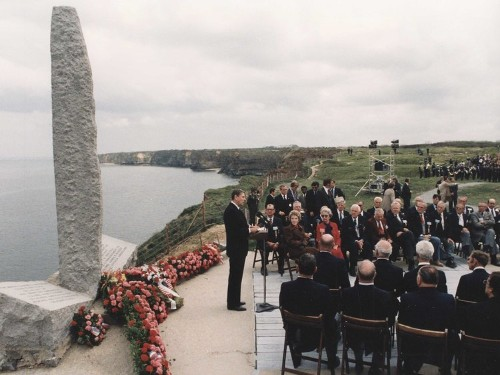 Here Is Reagan's Chilling Speech About The Soldiers Who Scaled Cliffs Under Heavy Fire On D-Day