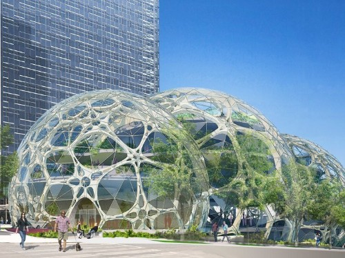 PICTURES: Amazon Is Building A Wild New 'Biosphere' In Downtown Seattle