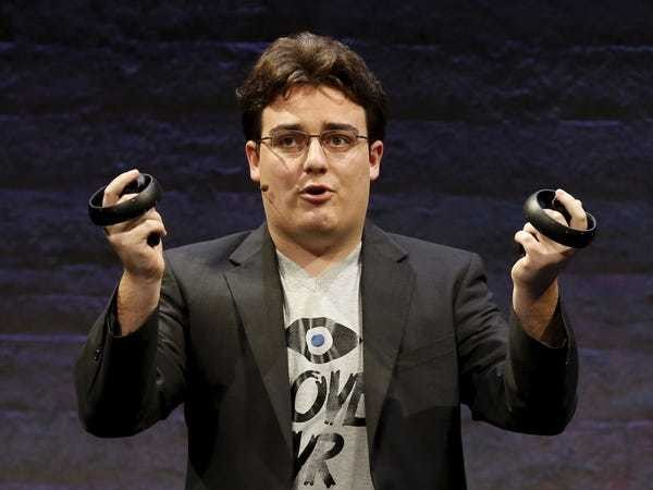 Oculus founder explains why some people get sick when using his product