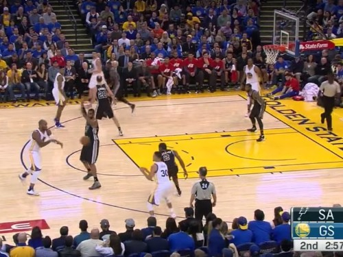 Stephen Curry showed in one play how dangerous he's become — and he did it against the NBA's best defender