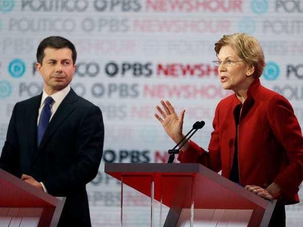 Why Elizabeth Warren and Amy Kobuchar went after Pete Buttigieg - Business Insider