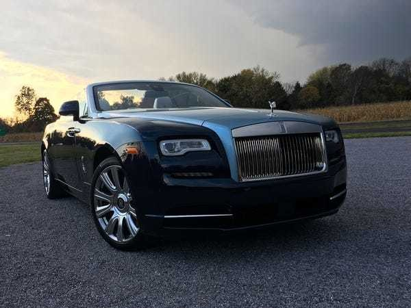 Rolls-Royce Dawn convertible road trip review, photos - Business Insider