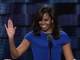 Michelle Obama speaks at Democratic National Convention - Business Insider