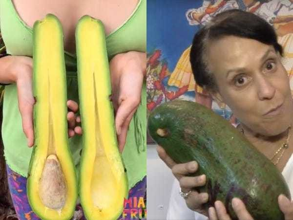 These are the 2 biggest avocados that existed in 2019 - Business Insider