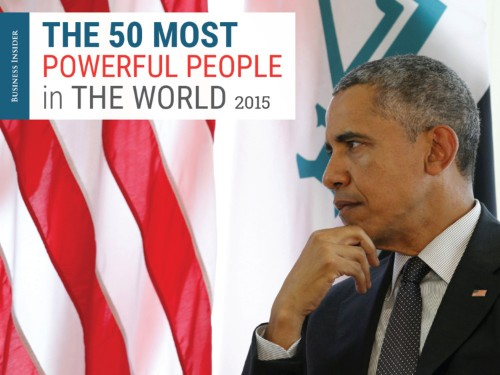 The 50 most powerful people in the world