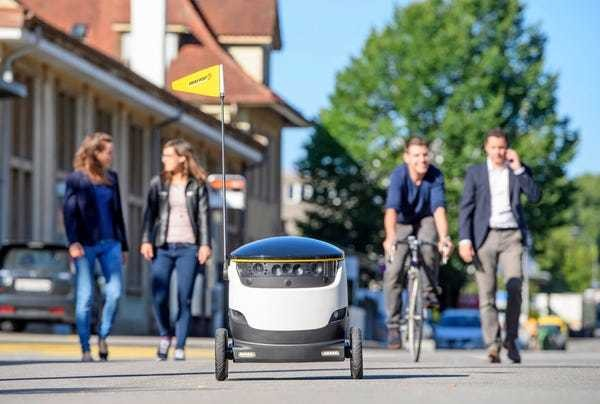 Starship Enterprises delivery robots are coming to San Francisco - Business Insider