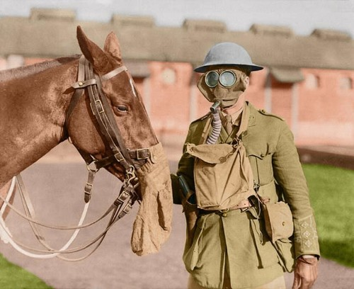 On the 100th anniversary of the US entry to World War I, these vivid colorized photos bring the Great War to life