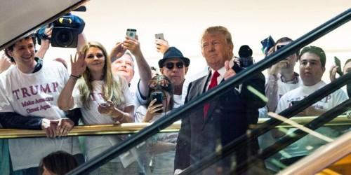 Trump celebrates 4th anniversary of escalator campaign announcement