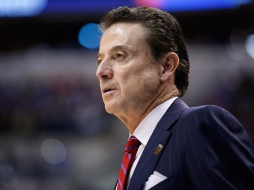 Rick Pitino and Louisville are in a $44 million staredown over a key clause in his contract