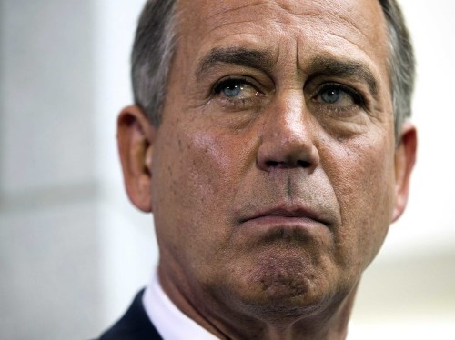 BOEHNER: We're On The Path To Default If Obama Doesn't Negotiate On The Debt Ceiling