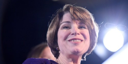 Amy Klobuchar: 3 women at debate 'fought for a woman's right to choose'