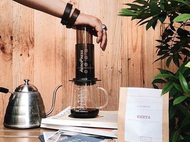 This simple coffee maker is one of the most versatile on the market
