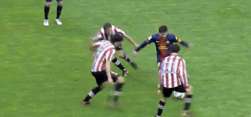 Lionel Messi Dribbled Through 3 Defenders To Score One Of His Best Goals Of The Year
