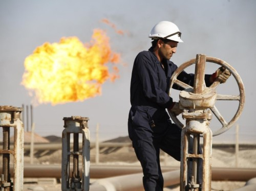 Crude oil futures jump on hopes of an output freeze