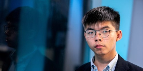 Hong Kong activist Joshua Wong to urge US to stop exporting tear gas