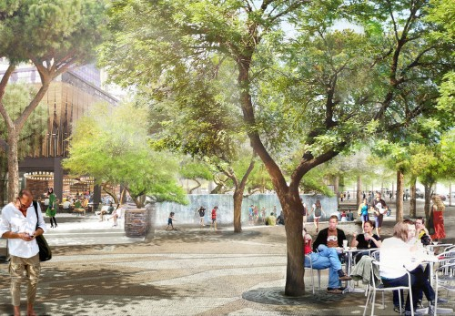 Las Vegas Is Getting Its Own Version Of NYC's Madison Square Park