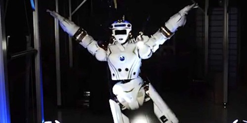 NASA shows off their humanoid robot that they want to send to Mars