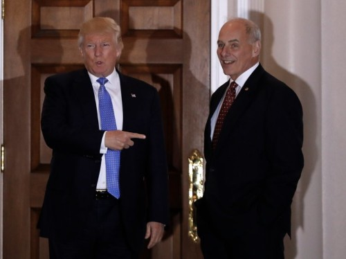 John Kelly already showed he's not afraid to stand up to Trump
