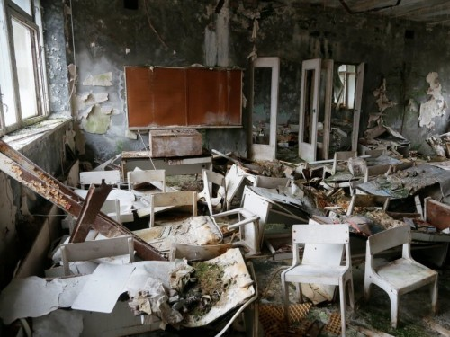 Video game developers are making a 3D virtual tour of the ghost town around Chernobyl