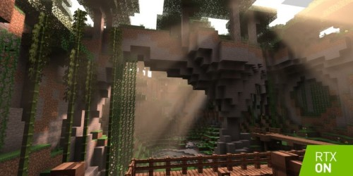 Minecraft getting graphics update with Nvidia RTX ray tracing for PC