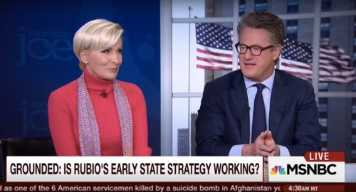 Joe Scarborough unloaded on Marco Rubio after his name appeared in a fundraising email