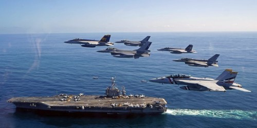 Here's the heavy US and UK naval firepower ready near Iran if the tanker tensions boil over