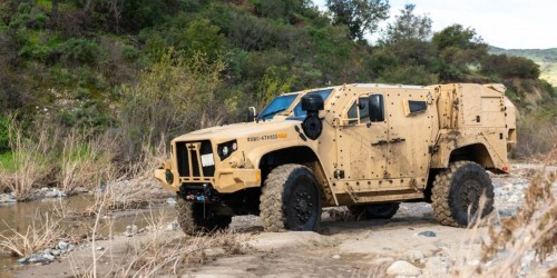 The Marine Corps' replacement for the Humvee is ready for action