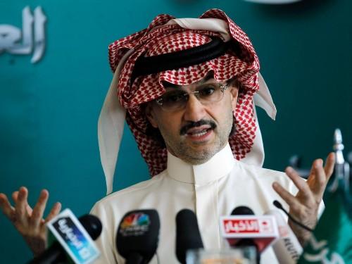 Saudi Prince Alwaleed bin Talal fires back at Donald Trump - Business Insider
