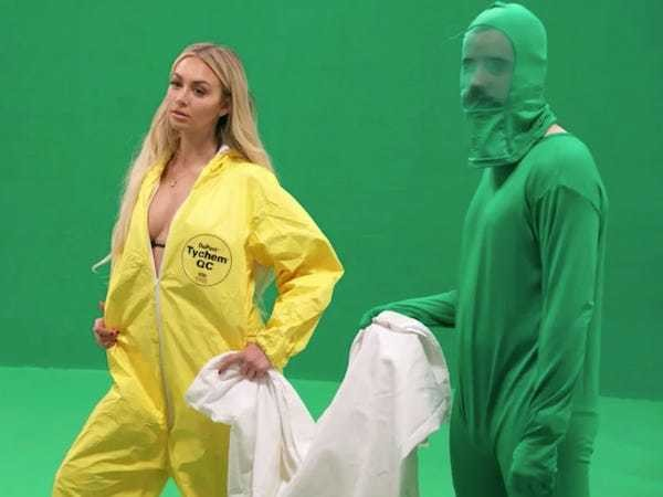 Sacha Baron Cohen tricked 'Bachelor' star into taking photos for fake 'Ebola aid' campaign - Business Insider
