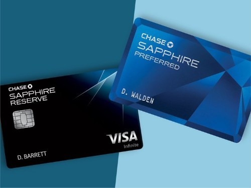 Preferred vs Reserve: How the Chase Sapphire credit cards stack up