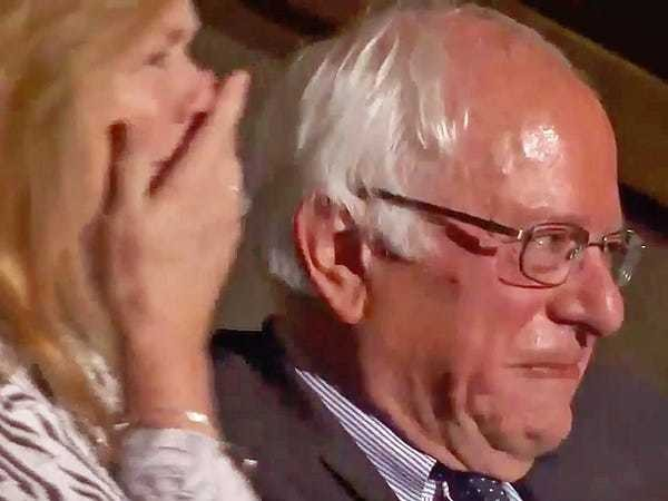 Bernie Sanders tears up as his brother pays tribute to their parents - Business Insider