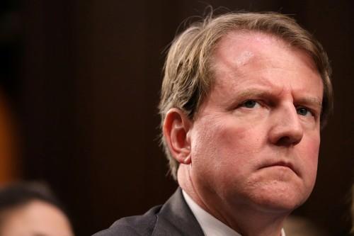 House panel chairman subpoenas ex-White House counsel McGahn