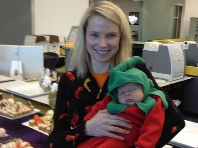Marissa Mayer Tells The Story Of Why She Became Yahoo CEO, Even Though She Was About To Have A Kid