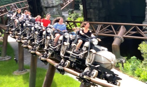 Hagrid's Magical Creatures Motorbike Adventure is one of the best coasters at Universal Orlando