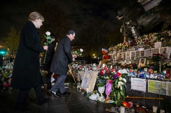 Germany pledges to stand with France in fight against IS - Business Insider