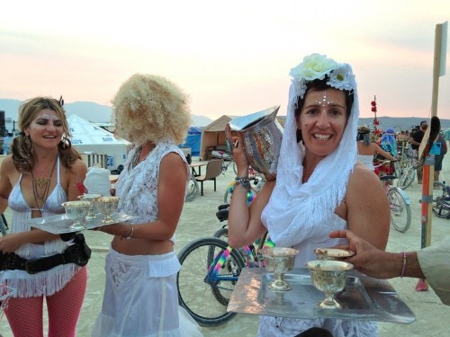 No money is exchanged at Burning Man — but here are the 2 things you can actually buy