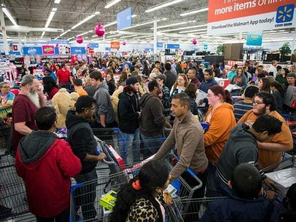 Walmart will start Black Friday on Thanksgiving Day - Business Insider